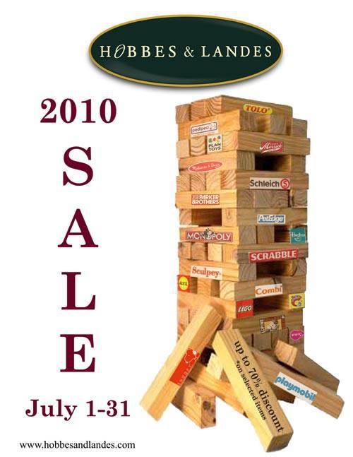 Hobbes & Landes sale poster
