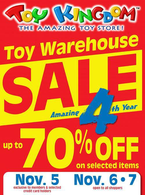 Toy Kingdom Warehouse Sale