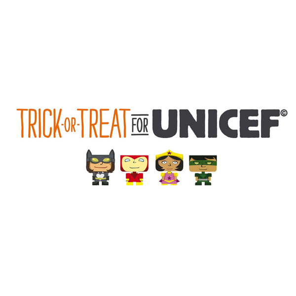 Kids Can Be Superheroes with Trick-Or-Treat for UNICEF