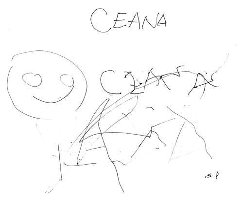 Ceana's doodle