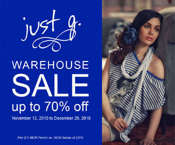 Just G sale