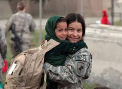 afghan mom child