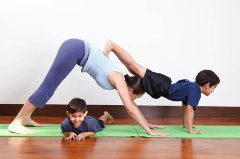 parent-child yoga