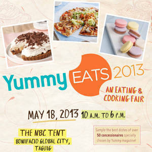 Yummy Eats 2013: A feast you don't want to miss!