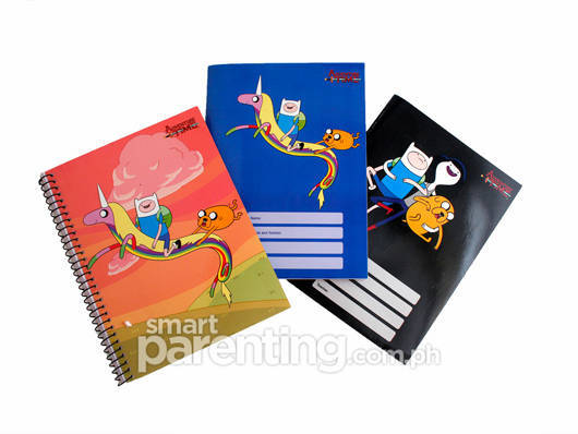 Adventure Time notebooks