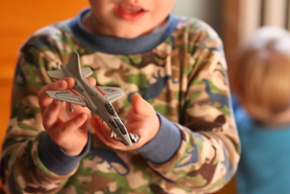 boy toy plane