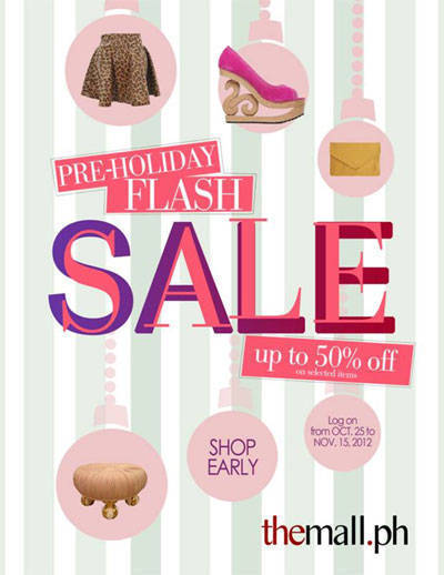 the mall flash sale