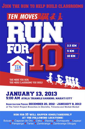 Run for 10