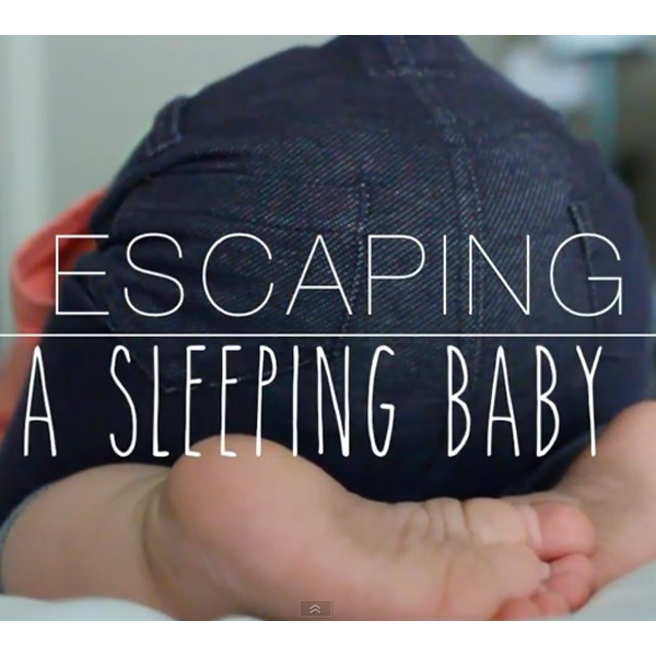 This Made Our Day: How Not to Wake Up a Sleeping Baby
