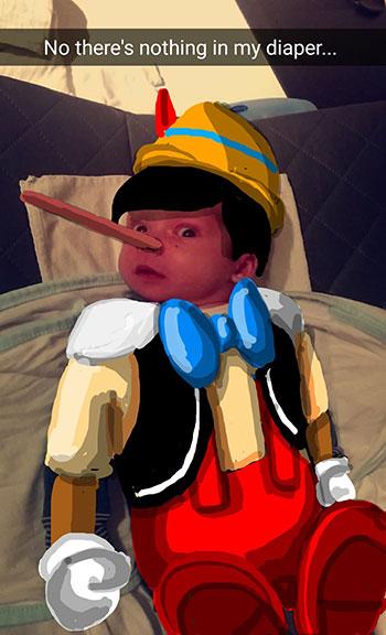 Snapdad Pinocchio