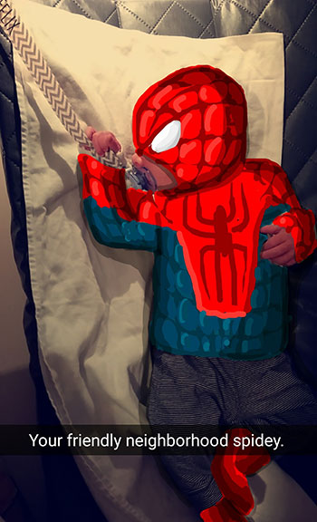 Snapdad Spiderman