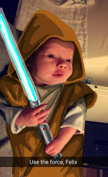 Snapdad Jedi