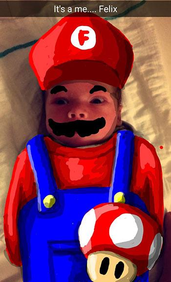 Snapdad Mario