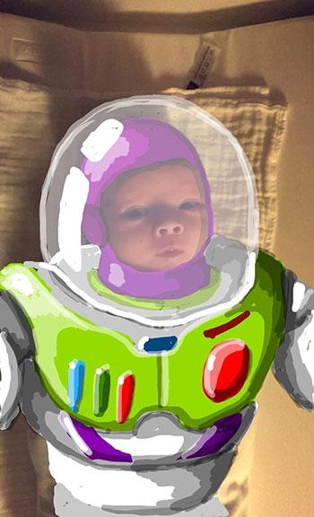 Snapdad Buzz Lightyear