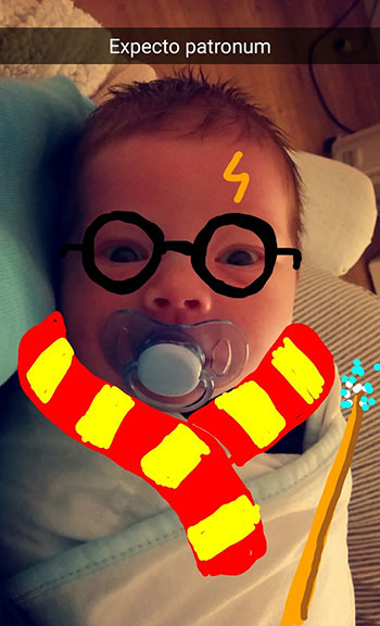 Snapdad Harry Potter