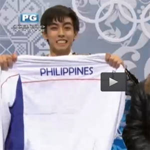 17-Year Old Filipino Skater Wows at the Sochi Olympics