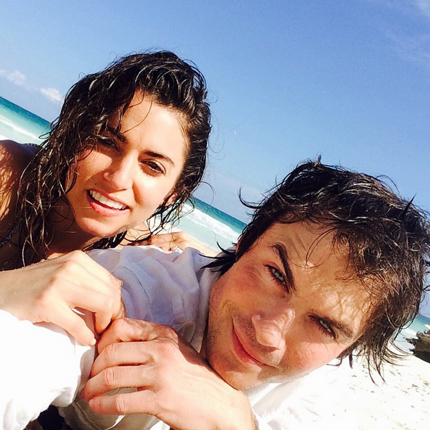 Top of the Morning: Hollywood Stars Ian Somerhalder and Nikki Reed Get Married