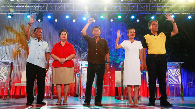 17 Memorable Promises Made at the PiliPinas Debate 2016
