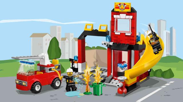 Lego Fire Emergency
