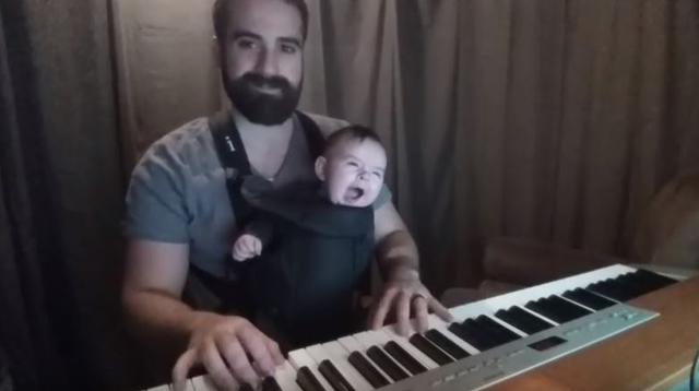This Made Our Day: This Dad Put His Baby to Sleep in Less Than 20 Seconds