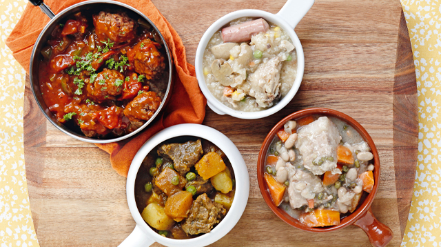 4 Stew Recipes When You're Too Lazy to Cook
