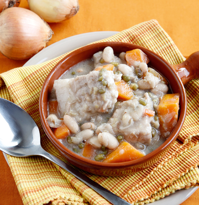 pork beans and carrot stew