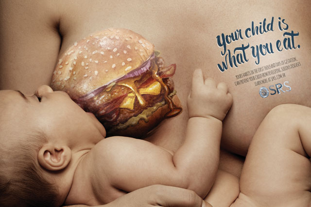 SPRS breastfeeding campaign photo