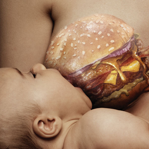 New Campaign Reminds Nursing Moms to Eat Healthy