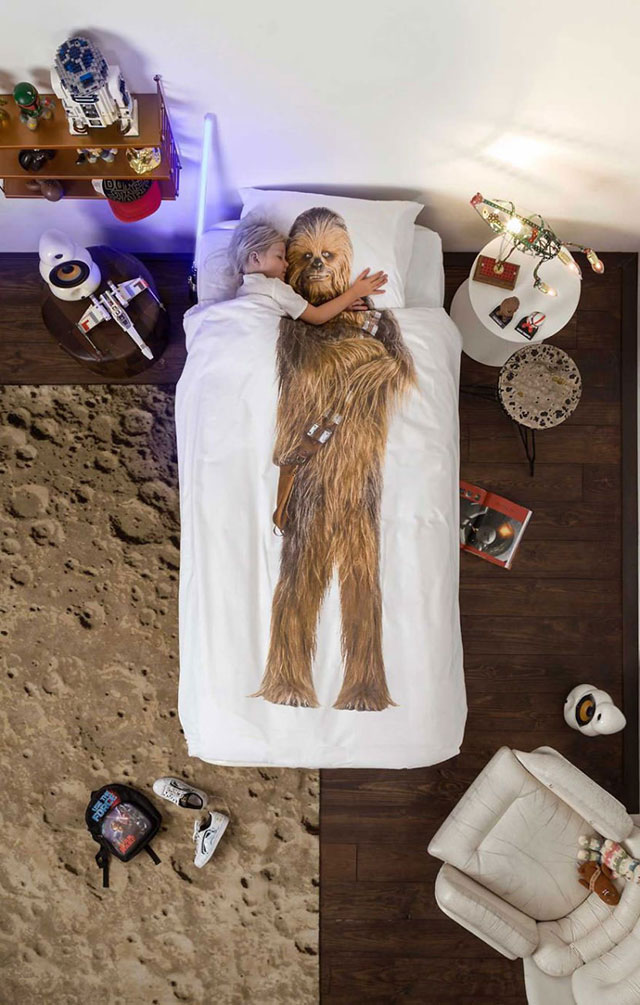Star Wars SNURK beddings Chewbacca