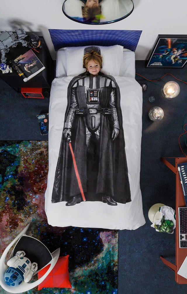 Star Wars SNURK beddings Darth Vader