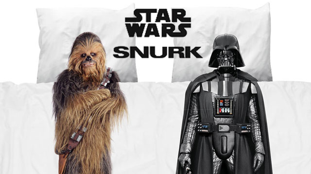 Tuck Your Kids in Bed as Darth Vader (or Chewie) With These Awesome Beddings