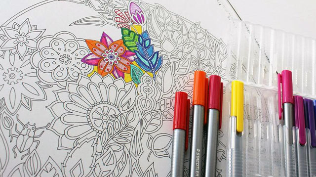 Say Goodbye to All The Bad Vibes With This Brilliant Coloring Book
