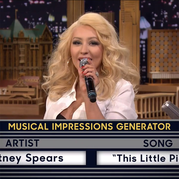 This Made our Day: Christina Aguilera Sings
