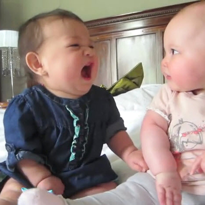 This Made our Day: Two Babies Having the Best Day and the Worst Day Ever