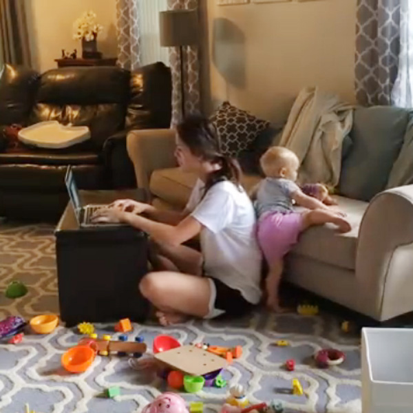 This Made our Day: This is What Work-at-Home Moms Have to Deal With Every Day