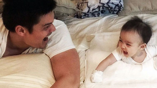 Top of the Morning: Dingdong Dantes Shares A Sneak Peek of Baby Zia's First Commercial!
