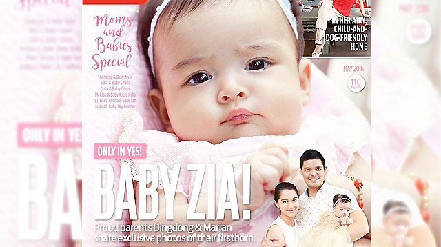 Top of the Morning: Look! Baby Zia's First Magazine Cover!