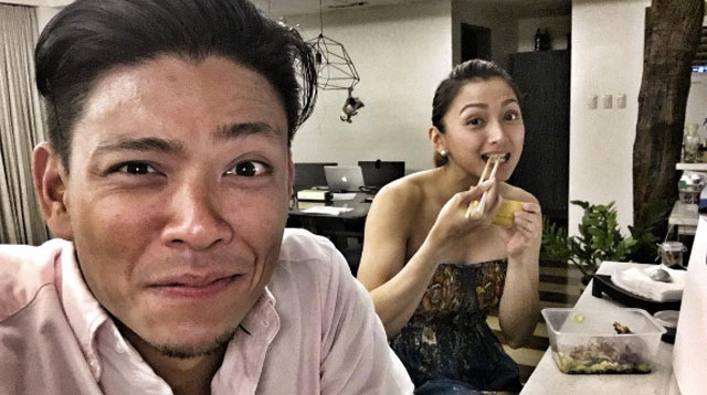 Top of the Morning: Look! Drew Arellano With Iya Villania's Baby Bump!