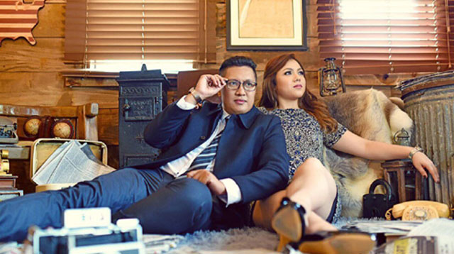 Top of the Morning: In Photos: Reporters Oscar Oida and MJ Marfori's prenup photos