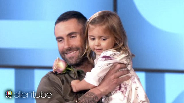 Top of The Morning: Adam Levine Meets Young Girl From Viral