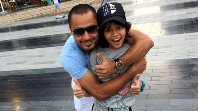 Top of the Morning: Actor Derek Ramsay Reunites with Son Austin