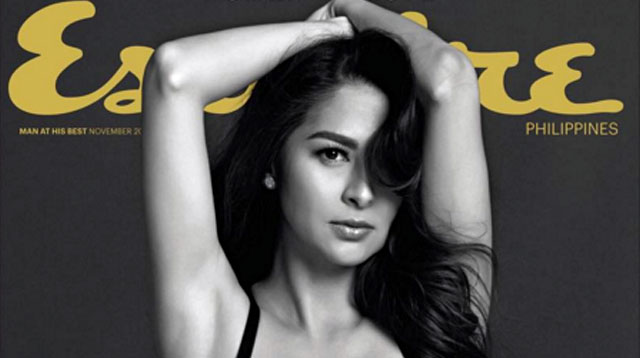 Top of the Morning: Marian Rivera on the cover of Esquire Magazine