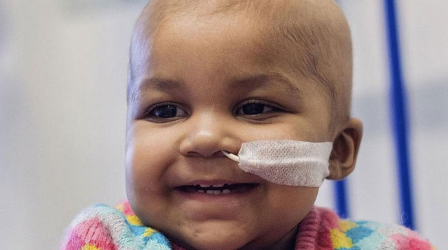 Top of the Morning: One-year-old Girl With Cancer