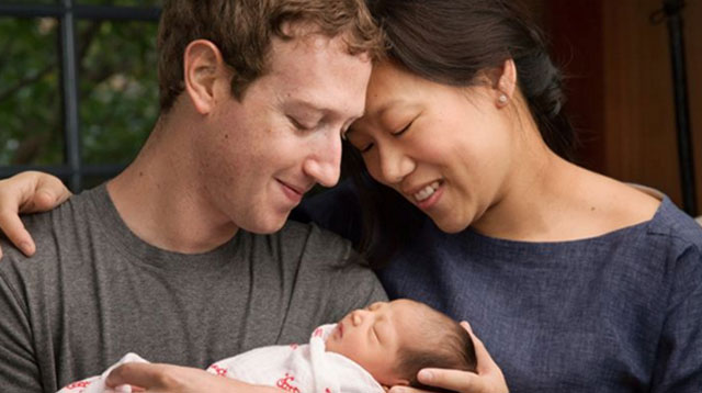 Top of the Morning: Mark Zuckerberg and Priscilla Chan Welcome First Baby