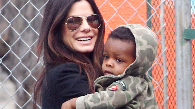 Top of the Morning: Actress Sandra Bullock Is A New Mom To A Little Girl!