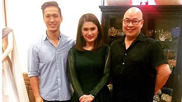 Top of the Morning: Could This Be Pauleen Luna's Wedding Gown?