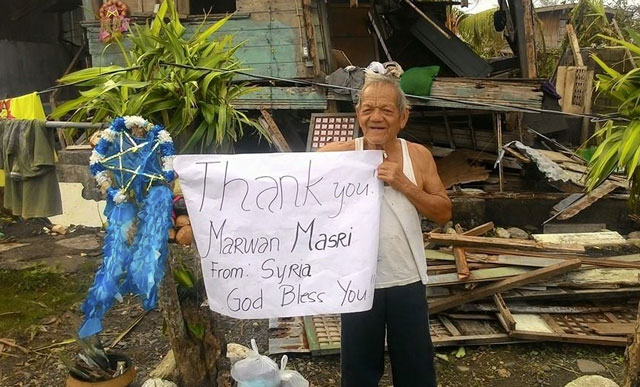 Top of the Morning: A Syrian Teen Gives P100,000 to PH Typhoon Nona Victims
