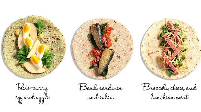 3 Easy Recipes With Tortilla Wrap
