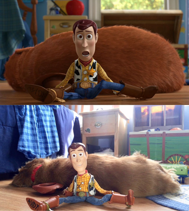Toy Story room dog Buster