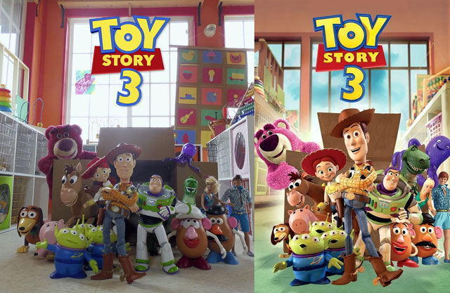 Toy Story room poster